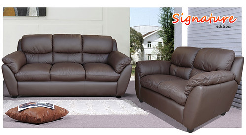Legacy brown sofa