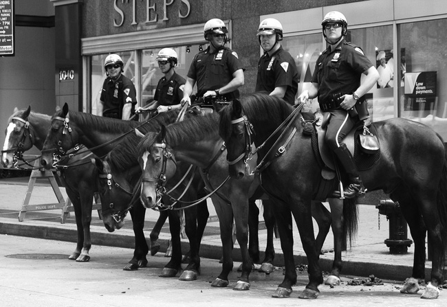 NYPD on Horseback