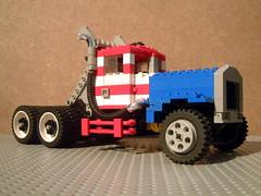 Peterbilt 358 GATR race truck