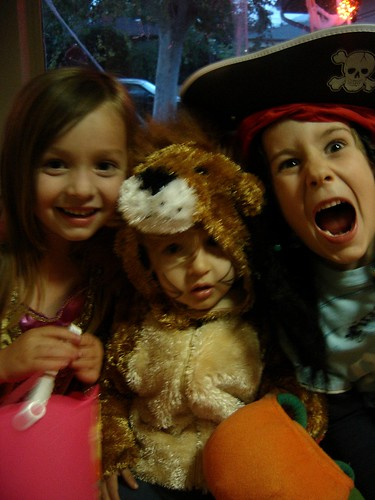 princess. lion, and pirate