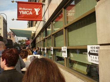 Voting - Nov. 4 2008