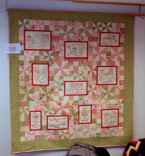 Kitchen capers - new BOM quilt