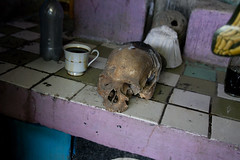 Skull on alter (Andrew Welch Photography) Tags: haiti voodoo portauprince voodou guede gud