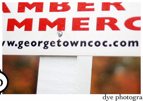 am I the only one who thinks the Georgetown Chamber of Commerce need to rethink their address?