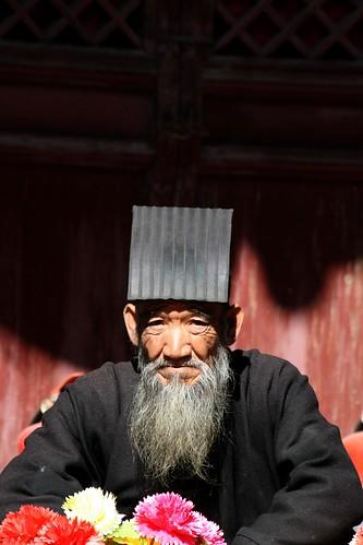 Hengshan Daoist (by niklausberger)