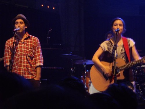 Missy Higgins and Joshua Radin.