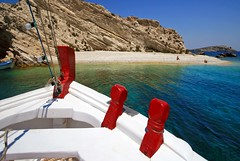 Boat and remote beach (Marite2007) Tags: travel blue red sea summer vacation white seascape color colour water boats outdoors greek freedom islands coast seaside marine rocks heaven paradise mediterranean day sailing escape getaway vibrant awesome shoreline aegean hellas lifestyle atmosphere places scene greece shore beaches environment coastline bays seashore idyllic heavenly enjoyment coves sceneries moored escaping entertaiment dodecanese paradisiacal micarttttworldphotographyawards micartttt lpseascape