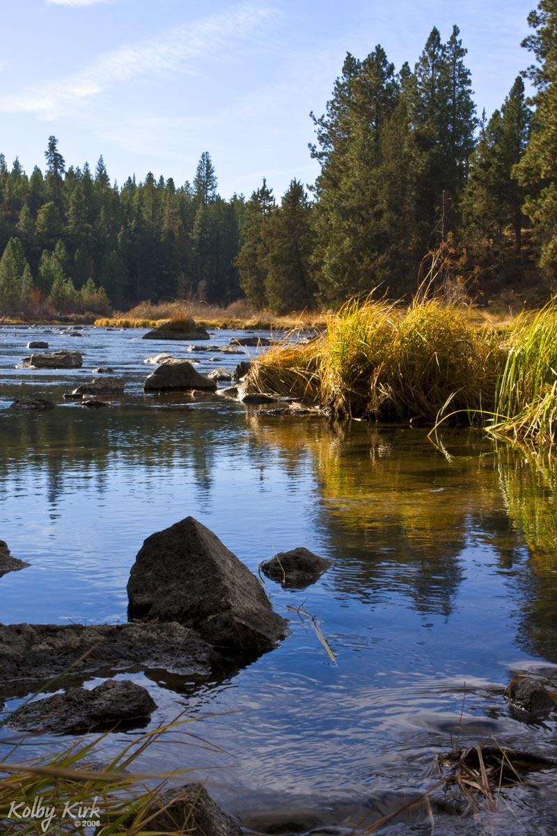 Deschutes River Calm