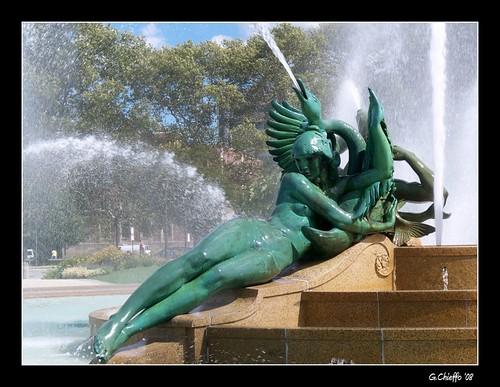 Swann Fountain detail (Philadelphia)