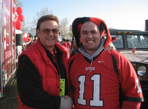 Long-time Utes play-by-play man, Bill Marcroft