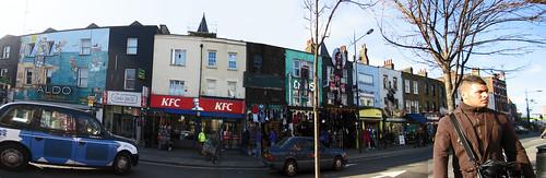 Camden Town. Panorámica