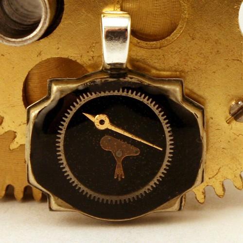 Steampunk Jewelry Bird Pendant