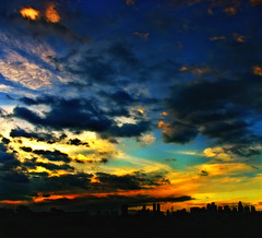 """Fire in the Sky"" (Vic de Vera) Tags: city travel blue sunset sky sun art nature ecology colors beautiful beauty weather silhouette skyline clouds buildings landscape fire interesting colorful flickr heaven gallery cityscape view place earth country philippines favorites vivid places panoramic explore manila stunning destination vic majestic tones heavenly pinoy wonders ortigascenter businessdistrict topshots aplusphoto theunforgettablepictures worldwidelandscapes natureselegantshots vicdevera panoramafotogrfico victorcdevera"