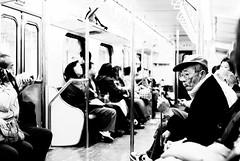 sit and wonder (summerrunner) Tags: people bw train 35mm nikon taipei nikkor 生活 d80