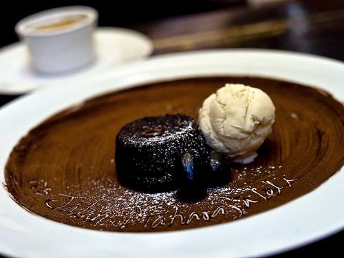 Chococlate lava cake