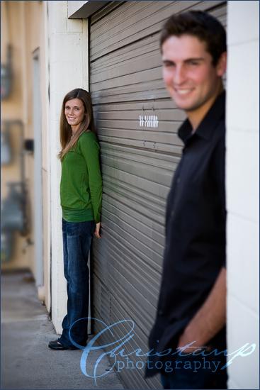 San Luis Obispo Engagement photos of Charlie and Danielle