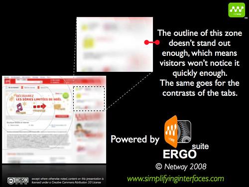 SFR website analysis with objectivity