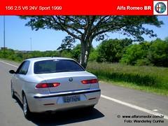 Alfa Romeo 156 nov 08 8 (renato155) Tags: brazil sport br 1999 porto 25 alfa romeo alegre rs v6 156 24v alfaromeobr