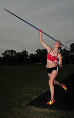 Emma Athletic - throwing (beeater) Tags: athletics models emma beautifulwomen javelin sportygirls australianmodels canberramodels femaleathletics womeninsport emmamodel modelmayhem721380 blondeathletes sportywomen femalejavelin