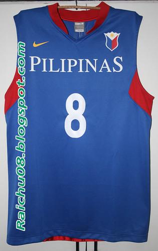 Nike 2009 Team Pilipinas Jersey