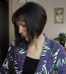 My bob haircut (shenevski) Tags: portrait haircut me myself nikon bob coolpix s52 nikons52