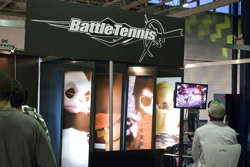 Stand de Battle Tennis en GAMExpo 2008