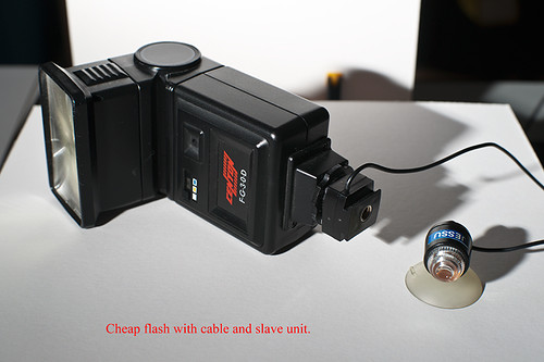 Flash and Sony Cameras