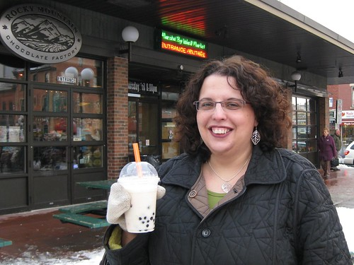 Inaugural bubble tea in Ottawa
