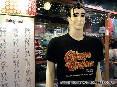 Souvenir tee-shirt