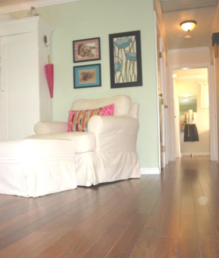 New Hardwood Floors ~ Living Room