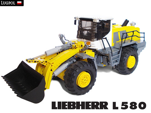 Fully Motorized 1 17 Liebherr L 580 Wheel Loader The