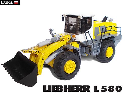 Fully Motorized 1 17 Liebherr L 580 Wheel Loader The
