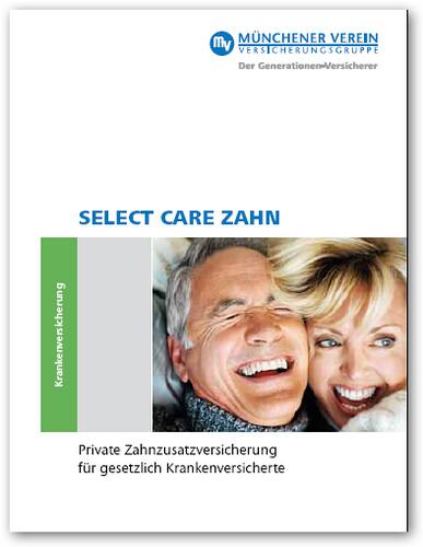 Info-PDF zu Select Care Zahn des Münchener Vereins