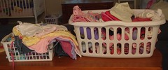 Laundry Baskets Need to be Emptied (MamaLaundry) Tags: laundry laundrybaskets