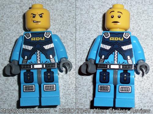 LEGO 7049 - Alien Conquest - Alien Striker Review