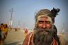 Sadhu (Leonid Plotkin) Tags: india man festival asia traditional religion ritual tradition hindu hinduism mystic sadhu ascetic holyman mela sangam allahabad pryag maghmela