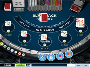 Blackjack Surrender 5 Hand game