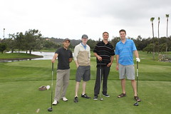 Team ProFlowers: Jason Huang, Steve Setzer, Thomas Racan, and Stuart Ridge