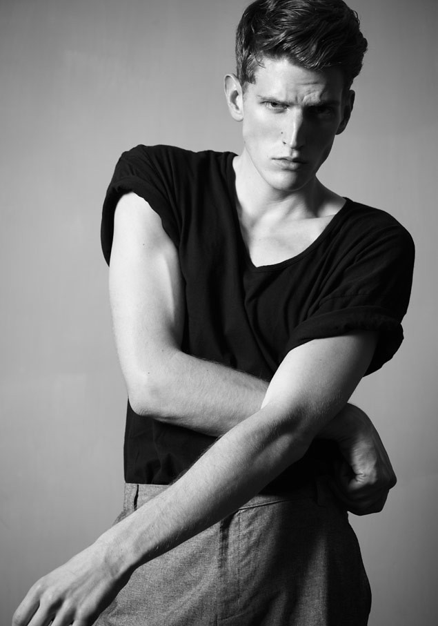 SS12 New Faces_Andre Feulner I LOVE(MODELScom)