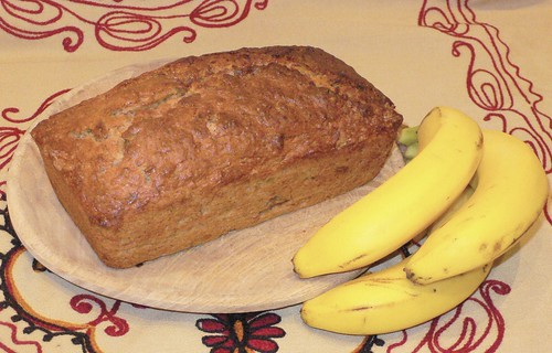 Banana loaf for Fairtrade fortnight