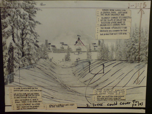 DSC00005 Storyboard from The Shining, Kubrick Archive