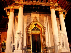 Marble Temple - 02 (dol2519) Tags: color asian thailand temple gold asia bangkok 666 east southern thai marble wat asean mamak ibn asem afta  5photosaday  dol2519 earthasia sigree sigreebinmamak
