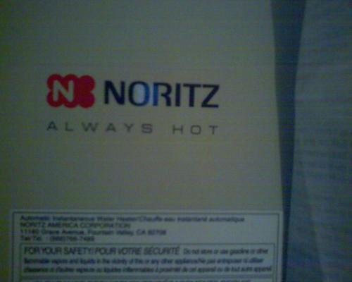 Noritz Tank-less Waterheater