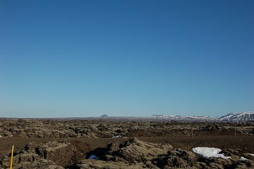ひたすら溶岩台地