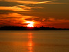 Fire sky (dongato) Tags: sunset red sky water colors clouds sunsets waterclouds passionphotography goldstaraward worldwidelandscapes exploreheaven
