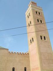 The local Mosque in Asni (mary hodder) Tags: atlasmountains morocco asni