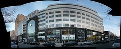 Montreal: Complxe du Fort. (Steve Brandon) Tags: autostitch panorama canada collage facade buildings geotagged am montral quebec montreal widescreen postoffice qubec shops storefronts stores fm 800 travelagency officesupplies radiostation canadapost edifices beautyschool ruestecatherine magasins ruesaintecatherine blockbustervideo fortstreet officefurniture postescanada technicalcollege stecatherines saintecatherines lasallecollege mix96 ruedufort cjad saintecatherinestreet astralmedia complxedufort collgelasalle collgeinterdec idbeaut interdeccollege gclproduitsdubureau librairieintellect fournituresdebureau lesvoyagesdufort