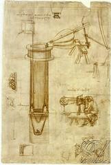 Maquina para elevar el agua-F 5 r-Biblioteca Ambrosiana