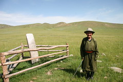 IMG_6172 (jaglazier) Tags: panorama mountains men archaeology del portraits august 2006 mongolia adults steppes nomads bronzeage bulgan 8206 stoneworking deerstones bulganaimag orkhonsum
