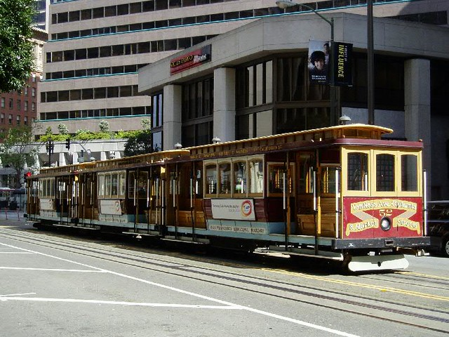 San Francisco Cable tram